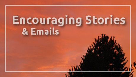 Encouraging Stories Feature